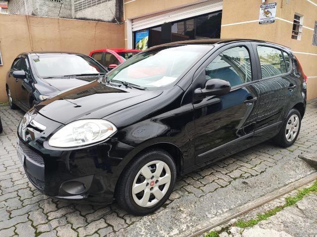Fiat Palio 1.0 Flex Attractive 2013 + Ar + Direção + 5mil Abx Tab + Entrada Zero + 60x 799 - Foto 2