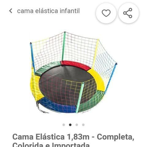 Pula pula/cama elástica adulto e infantil - Foto 2