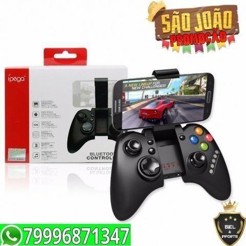 Controle Joystick Ipega Bluetooth Celular Android Original Promoçao