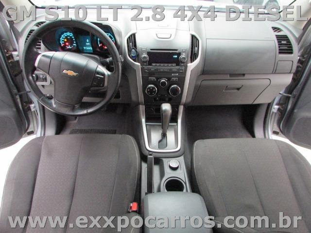 Gm S10 Lt 2.8 4X4 Diesel Automatica - Ano 2013 - Bem Conservada - Foto 4