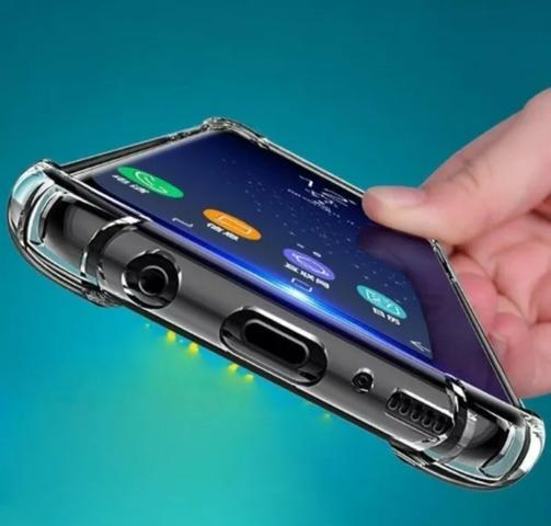 Capa de celular Anti Impacto Transparente Samsung e iPhone - Foto 6