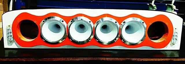 4 Cornetas D250x JBL + com cone corneta alumínio Branca. Mais top!!