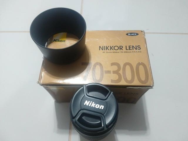 Lente Nikon Nikkor 70-300mm 4-5.6 - Foto 2