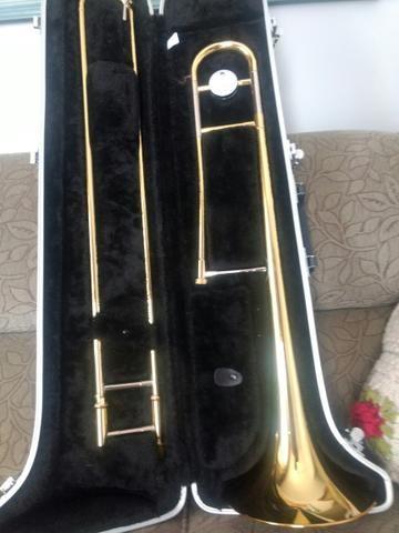 Trombone de vara Yamaha novo