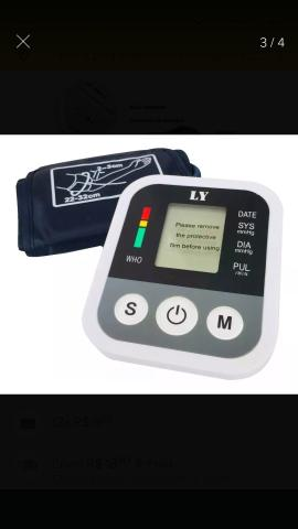 Aparelho Medidor De Pressão Arterial Digital Automático Braço Lançamento - Foto 4