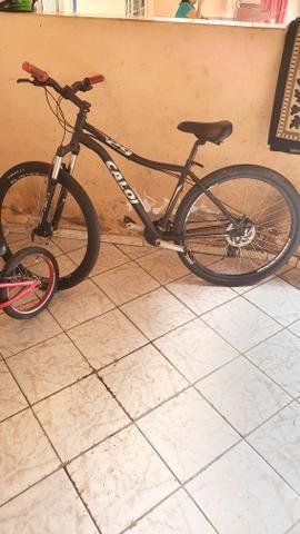 Bicicleta Caloi aro 20 vendo ou troco em pingente de ouro - Foto 2