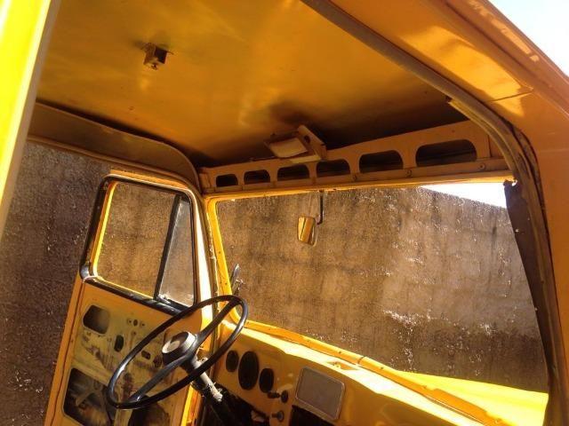 Ford F 75 Amarela - Foto 5