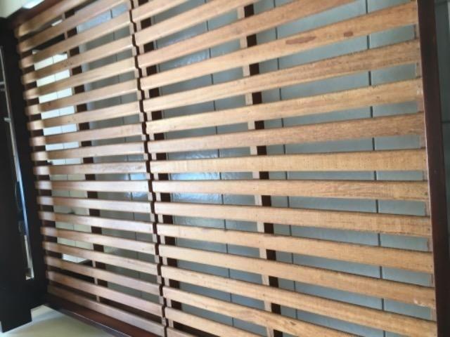 Cama casal madeira maciça exclusiva - Foto 4