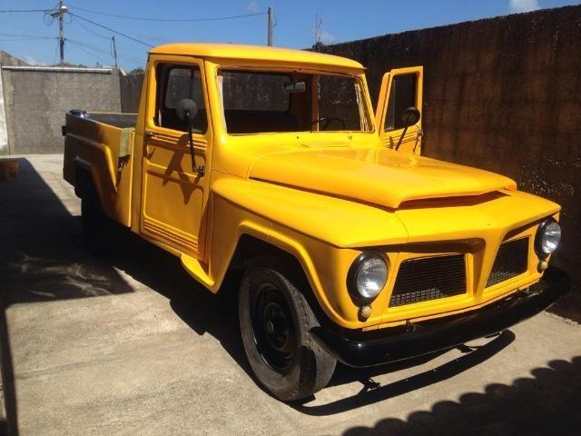 Ford F 75 Amarela - Foto 10