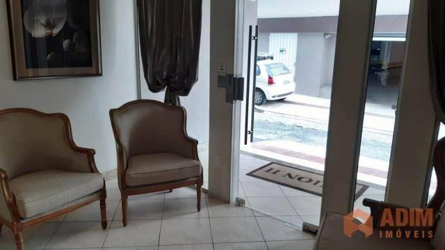 Apartamento quadra mar na Barra Sul, 2 dormitórios sendo 1 suíte, opção para 3º dormitório - Foto 5