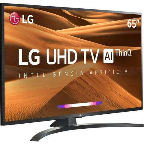 "Smart TV Led 65"" LG 65UM7470 Ultra HD 4K com Conversor Digital 4hdmi Wi-Fi"