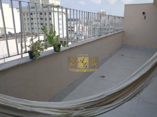 Cobertura com 3 dormitórios para alugar, 110 m² por R$ 3.000,00/mês - Icaraí - Niterói/RJ