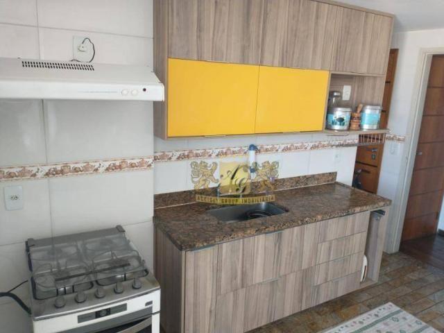 Cobertura com 3 dormitórios para alugar, 110 m² por R$ 3.000,00/mês - Icaraí - Niterói/RJ - Foto 12