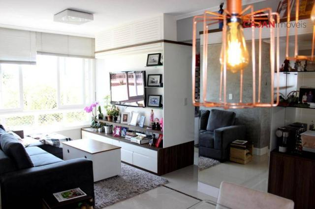 Apartamento com 3 dormitórios à venda, 80 m² por R$ 600.000,00 - Jardim Botânico - Porto A - Foto 3