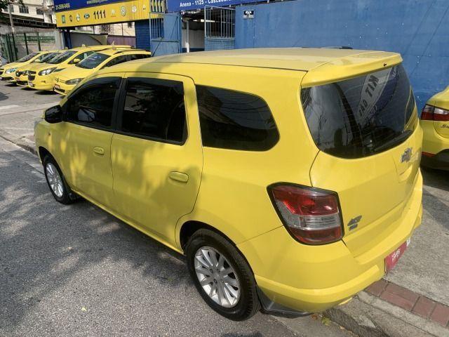 Spin 1.8 ex taxi completa+gnv, aprovação imediata, sem comprovação de renda!!! - Foto 11