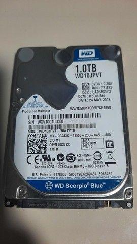 HD de notebook 1TB - 5400 RPM