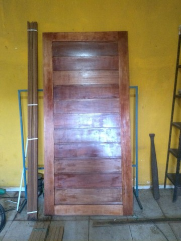Porta Madeira Maciça 1 mt - Foto 3
