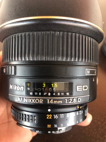 Nikon 14mm F 2.8 Super Angular - Foto 5