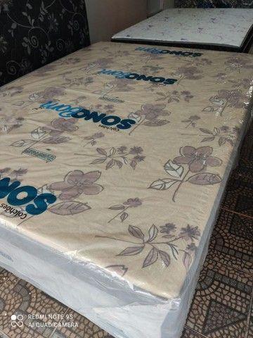 Cama unibox de espuma nova - Foto 5
