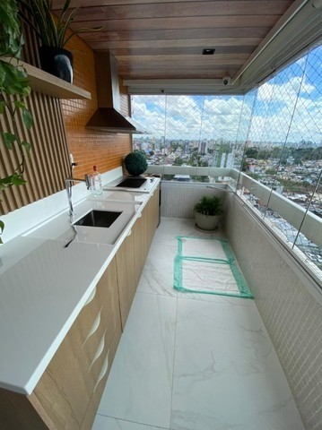 Condomínio Saint Romain, 4 suítes, 3 vagas, 100% mobiliado, moderno e lindo, no Vieiralves - Foto 13
