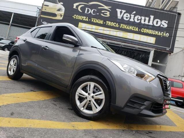Nissan Kicks 1.6 Flex Automática em Perfeito Estado + Couro