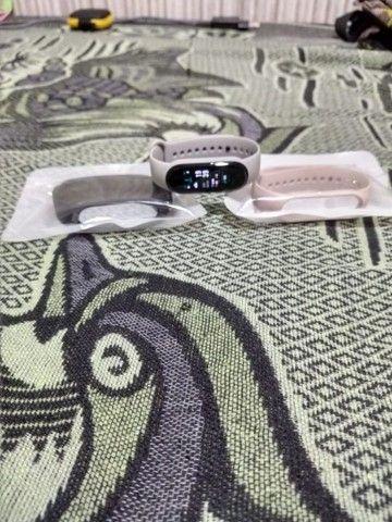 Mi Band 5 + pulseiras+película top - Foto 5