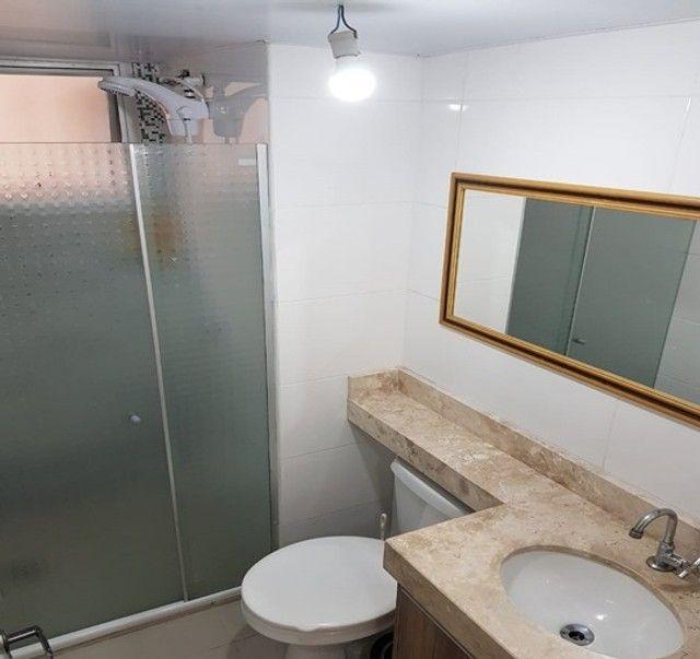 Apartamento_com 3 quartos semi mobiliado no Fazendinha - Foto 9