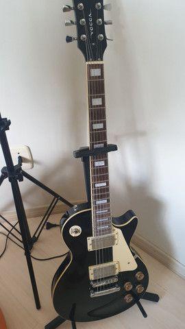 Guitarra Les Paul Vogga Standard + Cabos e GuitarLink - Foto 2