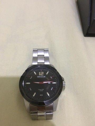 relógio seculus  - Foto 2