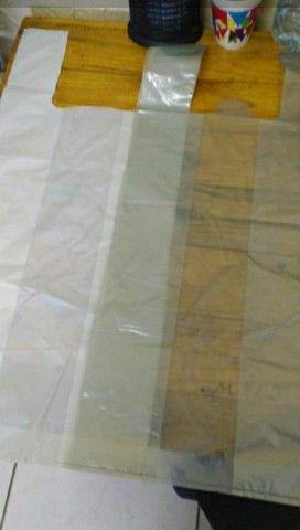 Sacolas recicladas - Mixadas - alta - saco de lixo e bobinas - Foto 2