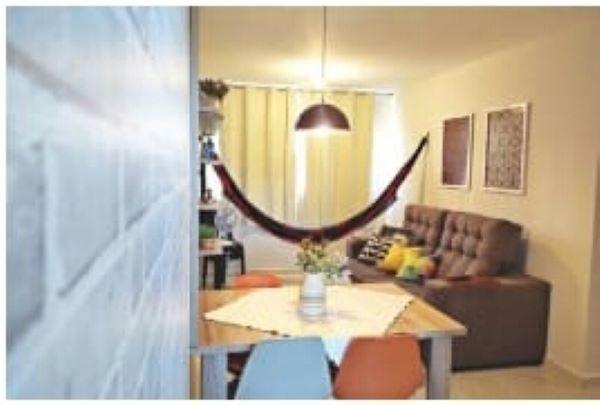 Apartamento mobiliado de 02 quartos em ponta de Campina.