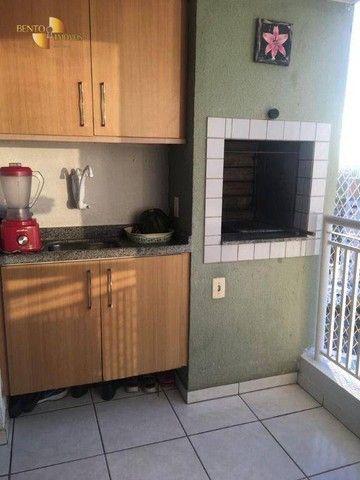 Apartamento com 2 dormitórios à venda, 70 m² por R$ 370.000 - Duque de Caxias - Cuiabá/MT - Foto 13