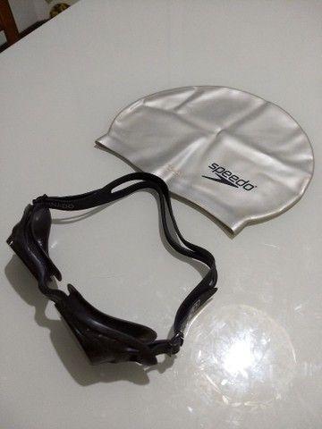 Óculos de Natação + touca - Foto 3