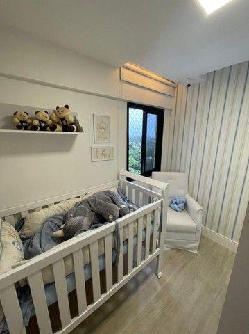 Colina A, apartamento 3/4,suíte,finamente decorado,vista mar,2 vagas - Foto 11