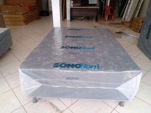 Cama unibox de espuma nova - Foto 3