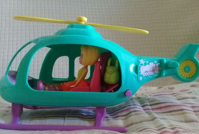 Helicóptero da Polly Pocket  - Foto 2