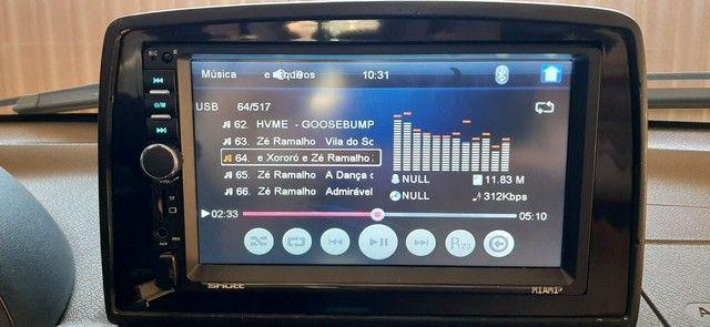 Central Multimídia MP5 Player Automotivo Casty Tech by Shutt Miami 2 Din Tela 7 Polegadas - Foto 6