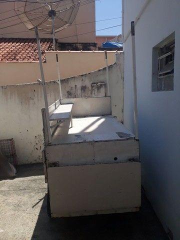 Freezer e carrinho de lanche a venda ou troca por moto - Foto 2
