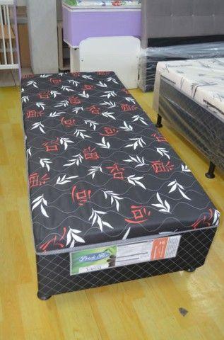 Cama box solteiro com espuma - Novo - Foto 4