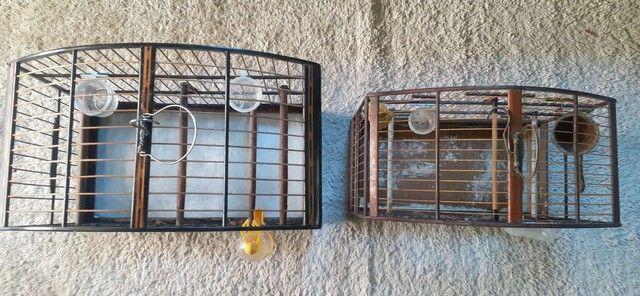 Vendo ou troco gaiolas usadas mas conservadas  - Foto 3