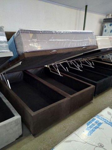 Box baú, base baú, cama Box baú novos reforçado - Foto 2