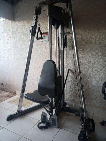 Ilha de musculação Vision Fitness bem conservado