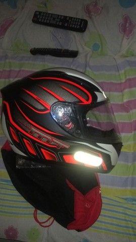 Balança p lavar moto e capacete MT helmets tudo praticamente novos - Foto 6