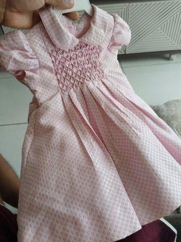 Vestido Marca Mio Bebê usado apenas uma vez
