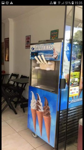 Concerto máquina de sorvete
