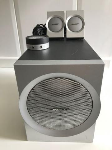 Caixa Bose Companion 3 - Multimidia Speaker System. 100%