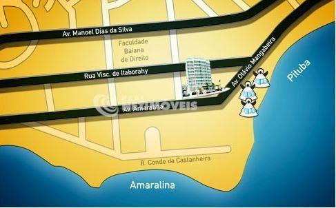Apartamento à venda com 1 dormitórios em Amaralina, Salvador cod:625664 - Foto 3