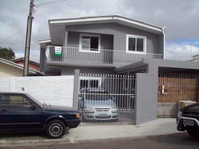Sobrado residencial para locação, Sítio Cercado, Curitiba.