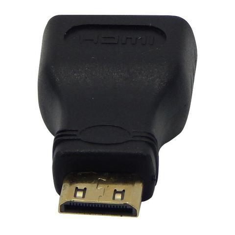 Adaptador Hdmi Femea X Hdmi Mini Macho P/ Tablet 1080i Hd - Foto 2