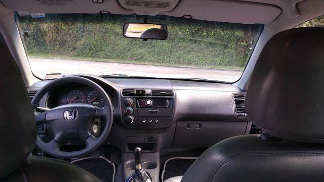 Superior Honda Civic LX 2002/2002 Completo